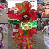 Parade de groupe carnavalesque